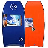 Custom X XPE 43 CR Bodyboard - Black deck, White rails, White bottom