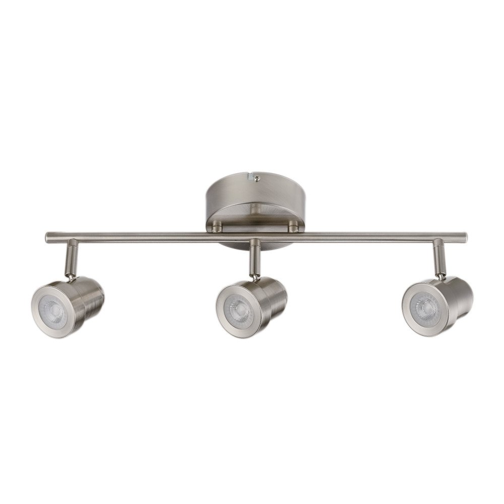 Globe Electric 59020 Track Lighting, Brushed Nickel