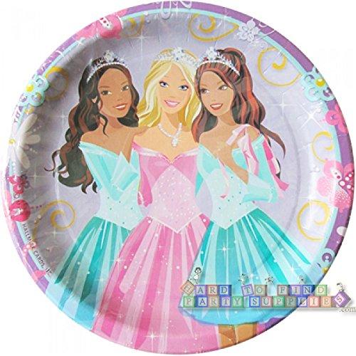 Barbie 'Perennial Princess' Large Paper Plates (8ct) ()