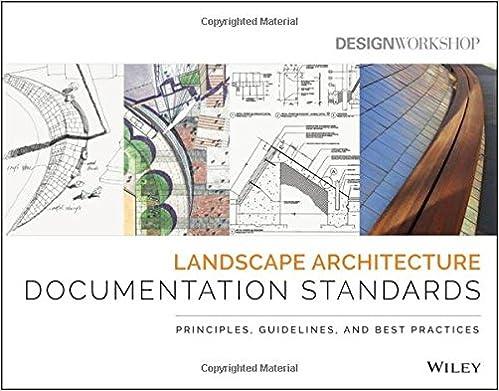 Amazon Com Landscape Architecture Documentation Standards