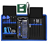 IPARTS EXPERT 76 in 1 Precision Screwdriver Kit, Professional Repair Tool Kit with 2-in-1 Magnetizer, Pouch for iPhone, iPad, MacBook, Phone, Watch, Laptop