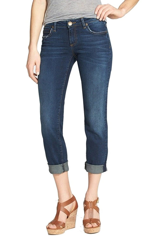 Kut from the Kloth Blue Women's 2X29 Boyfriend Jeans 2