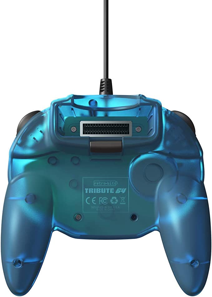 Retro-Bit Tribute 64 - Controlador N64 para Nintendo 64, Color ...