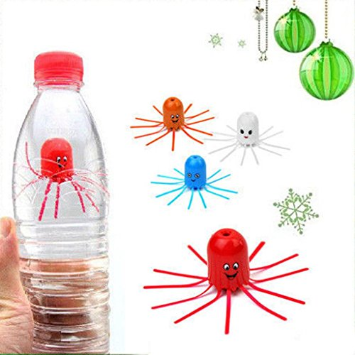 Hydrodynamic Floats (HuaYang Magical Hydrodynamic Go Down And Float Up Jellyfish Educational Toy for Baby Kids Child 3 Pcs(Random Color))