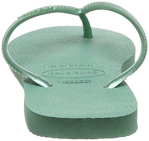 Havaianas Mujeres Slim Flip Flop Green Tea