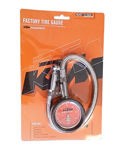 NEW KTM TIRE GAUGE 0- 60 PSI U6951099 (Dirt Bike Tire Gauge)