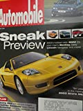 2002 Jaguar X Type / Cadillac Escalade / Acura RSX / 2000 Mazda MPV Magazine Article