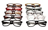 TN49 Retro Wayfarer Style Reading Glasses +1.0+1.25+1.50 +2.0+2.5 Available In 10 Colours