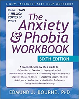 picture of the anxiety and phobia work book