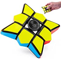 Crownmax Magic Fidget Finger Spinner Toy, Anti Stress Reliever/Sensory, Anxiety Relief for Kids and Adults (Magic…