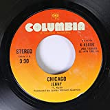 Chicago 45 RPM Jenny / Feelin' Stronger Every Day