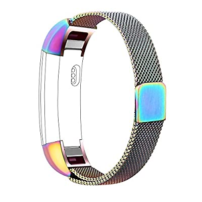Fitbit Alta Bands,Vancle Alta HR Milanese Loop Stainless Steel Metal Replacement Accessories Wristband Strap with Magnet Lock for Fitbit Alta HR 2017 / Fitbit Alta 2016 (No Tracker)