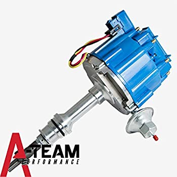 Amazon blue cap hei electronic distributor 351w windsor fits sb a team performance ford 351w windsor 65k coil complete hei distributor 7500 rpm 351w one wire installation publicscrutiny Images