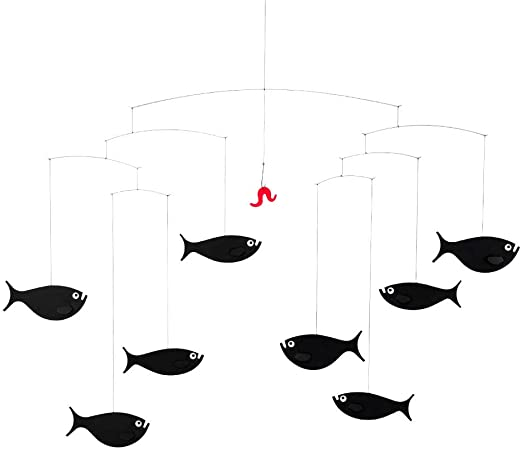 Flensted Shoal of Fish Mobile by Flensted Mobiles