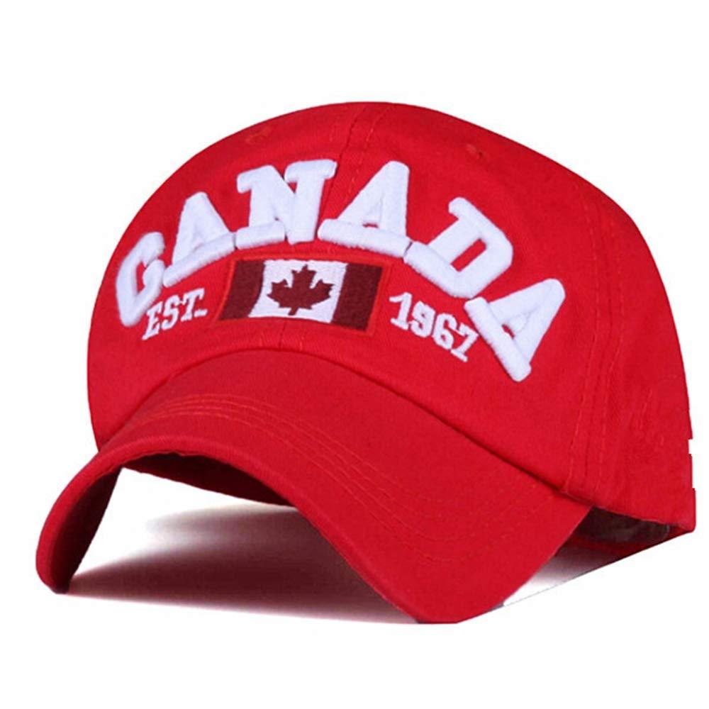 Scge Marca Canadá Carta Bordado Gorras de béisbol Snapback ...