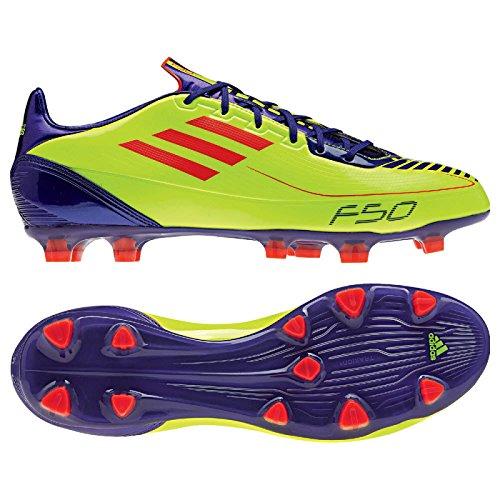 adidas F30 TRX HG Zapatillas Amarillo/Púrpura/Rojo