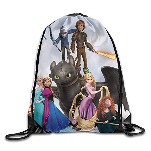 How To Train Your Dragon Nylon Training Gymsack Home Travel Sport (Nylon Giant Inflatable)