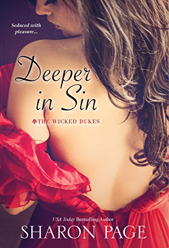 Deeper In Sin (The Wicked Dukes) cover