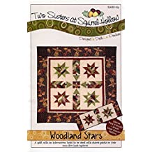 Two Sisters at Squirrel Hollow Pattern ~ Woodland Stars Quilt, Wall Hanging and Table Runner