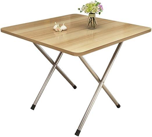mesa plegable LITING Mesa de Comedor Casa Sencilla Apartamento ...