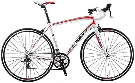 50 cm sundeal R9 700 C bicicleta de carretera 6061 aleación marco Shimano Sora 2 x 9 MSRP $649 nuevo: Amazon.es: Deportes y aire libre