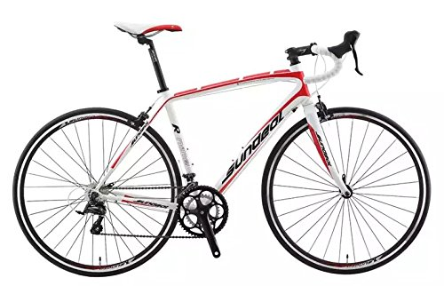 50cm Sundeal R9 700c Road Bike 6061 Alloy Frame Shimano Sora 2x9 MSRP $649 NEW