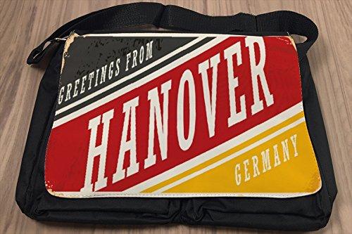 Borsa Tracolla Viaggi Cucina Hannover Germania Stampato