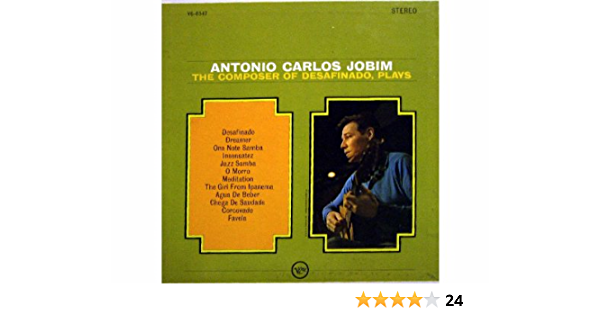 The Composer Of Desafinado, Plays [Vinyl LP record]