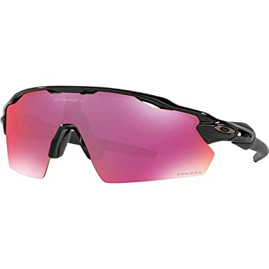5103f8340ccd4 Oakley Men s Radar Ev Path Non-Polarized Iridium Rectangular Sunglasses