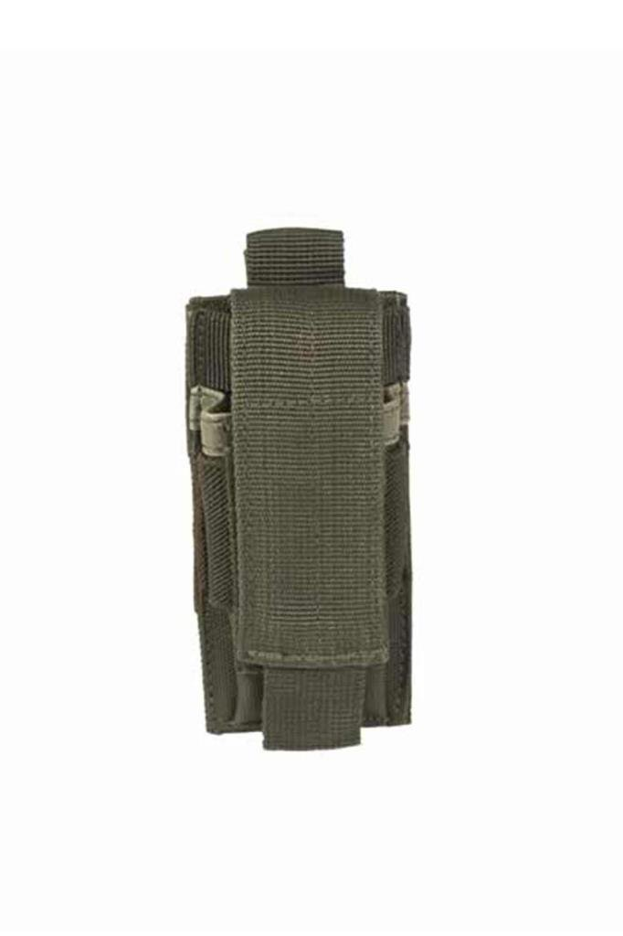 MIL-TEC SINGLE PISTOL MAGAZINE POUCH MAG POUCH TAN