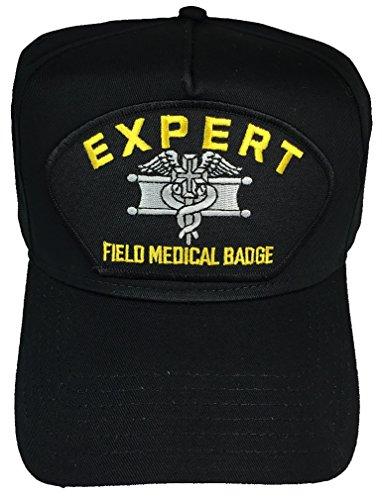 EXPERT FIELD MEDICAL BADGE HAT - BLACK - Veteran Owned Business by H