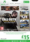 Xbox Live �15 Gift Card: Call of Duty...