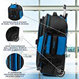 Travelpro Bold Expandable Rollaboard, Blue/Black