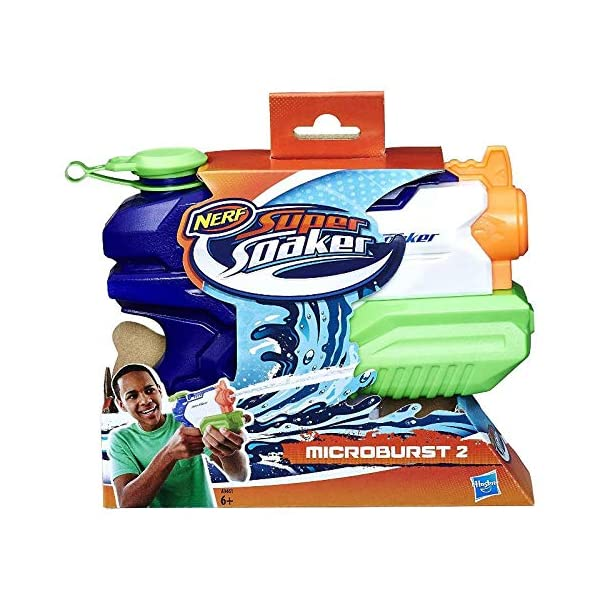Nerf Supersoaker - Microburst, pistola ad acqua 1 spesavip