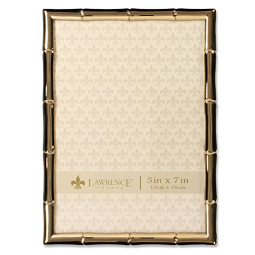 Gold Metal Bamboo Design Picture Frame ()