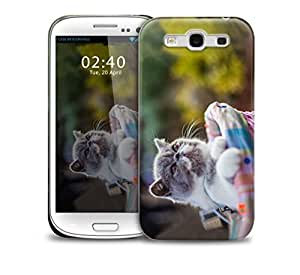 sing it kitty Samsung Galaxy S3 GS3 protective phone case