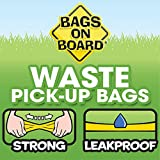 Bags on Board Odor Control Dog Poop Bags and