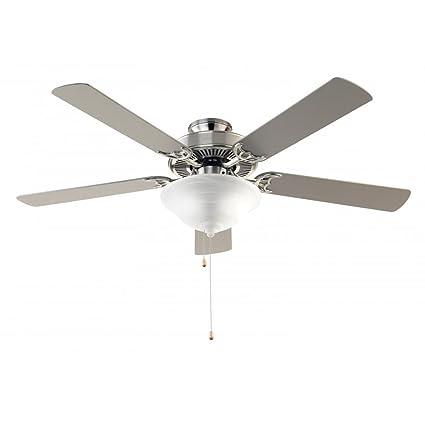Trans Globe Lighting F 1000 BN Indoor Solana Ceiling Fan, Brushed Nickel