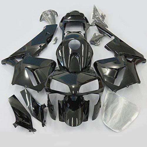 ZXMOTO All Black Painted Fairing Kit for Honda CBR 600 RR F5 (2003-2004)