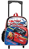 Disney Pixar Cars 12'' Toddler Mini Rolling Backpack