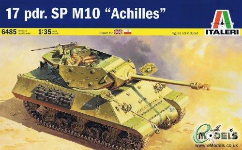 M10 Achilles Tank Destroyer w/17-pdr Gun 1/35 Italeri