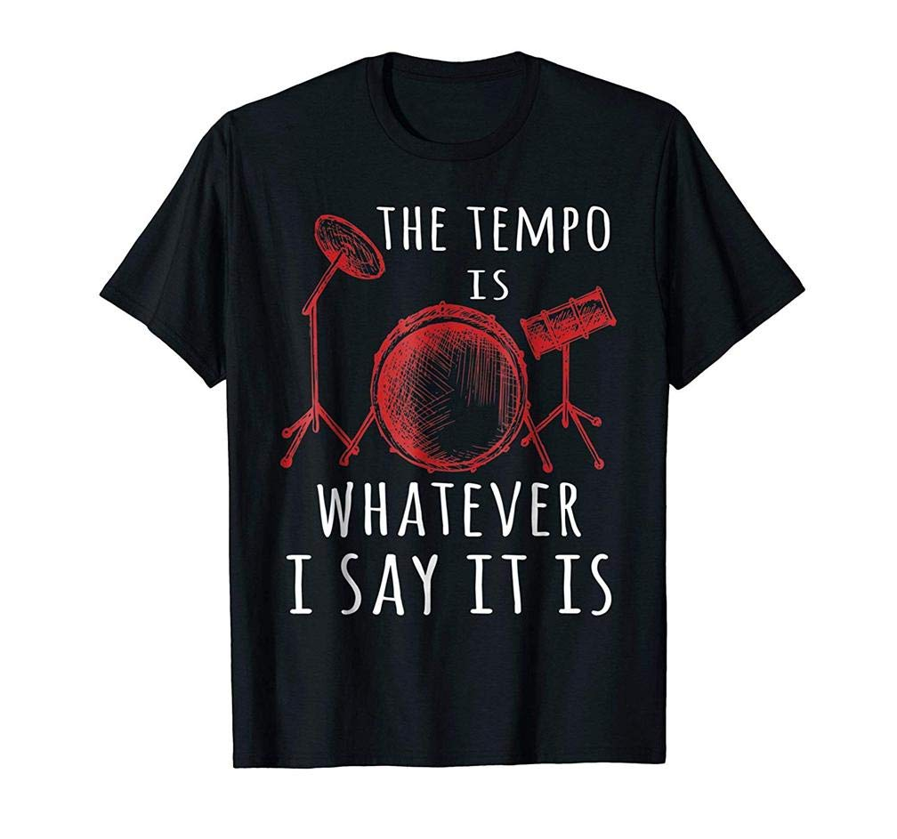 It Is Best Cool Drummer Gift Tee S Printing S Funny Short Sleeves Shirts