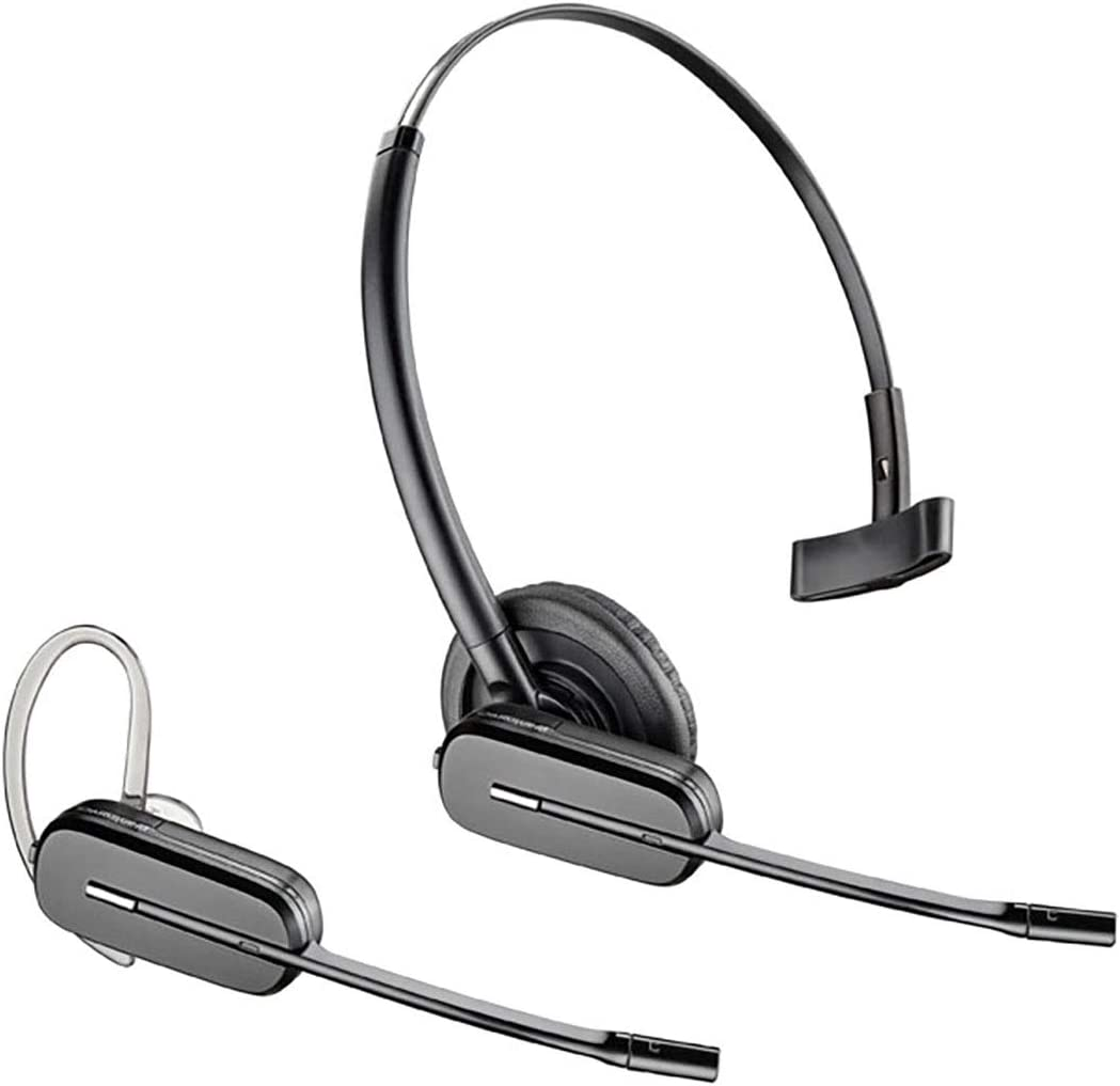 Plantronics-CS540 Convertible Wireless Headset Bundle with Plantronics EHS Cable APP-51 Polycom