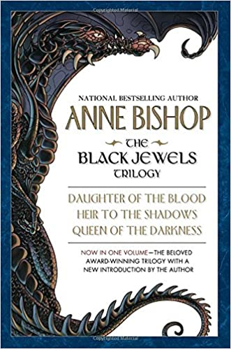 Cover of the Black Jewels trilogy by Anne Bishop