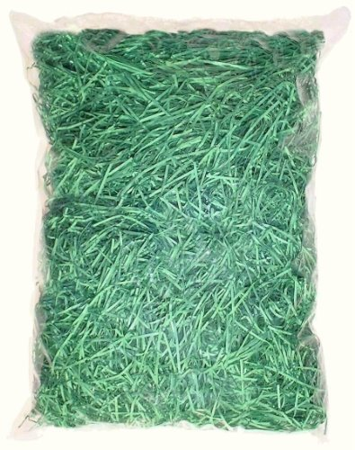 100g-green-paper-shred-decoration-accessory