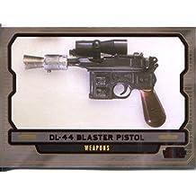 Star Wars Galactic Files 2 Red Parallel Base Card #630 DL-44 Blaster Pistol