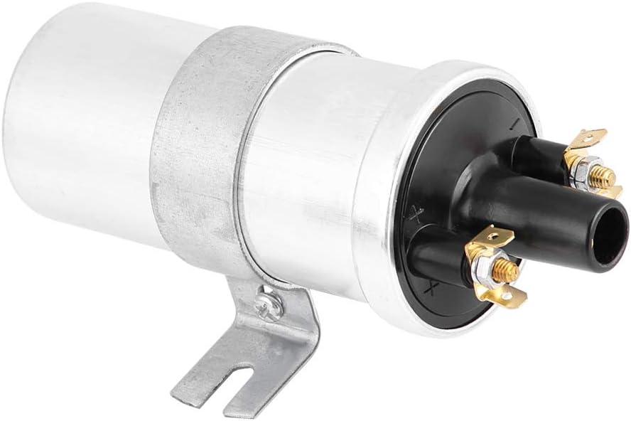 Aramox Bobina de encendido de 12 voltios, bobina de encendido sin lastre de 3 ohmios para aplicaciones Lucas de 12 voltios DLB101