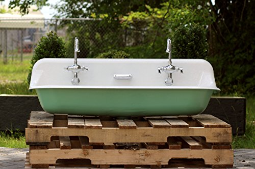 Vintage Porcelain Sink (Large 48