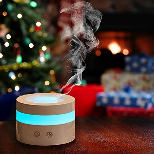 Mini USB Essential Oil Diffuser, MFEEL 100ml Portable Humidifier, Travel-Size Air Humidifier Ultrasonic Cool Mist Aroma Humidifier Air Purifier for Bedroom Baby Room Home Office Car by MFEEL (Image #6)
