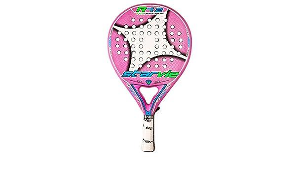 StarVie R 7.2 Text 2016 - Pala de pádel, color rosa, talla única: Amazon.es: Deportes y aire libre